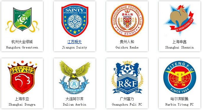 2014中超球队队徽-logo11设计网