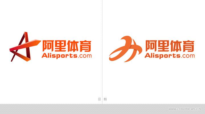 阿里体育集团启用新logo