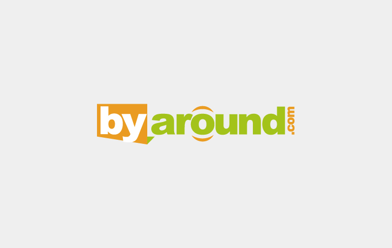 美国byaround购物网站LOGO设计