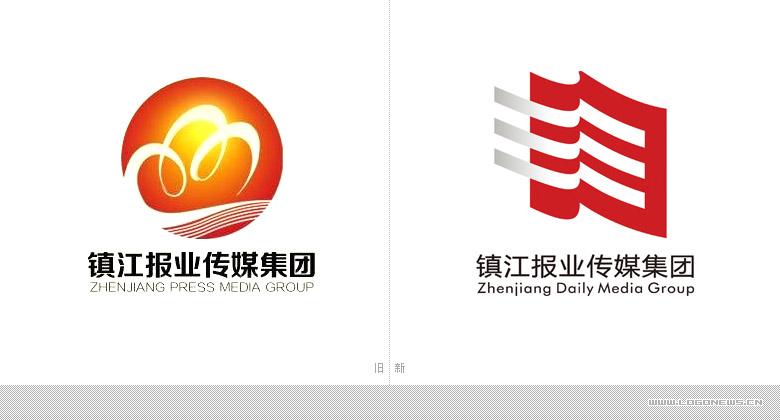 镇江报业传媒集团logo正式发布-logo11设计网