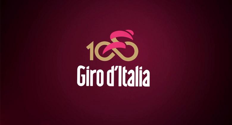 国内知名品牌logo_环意大利自行车赛第100届全新LOGO发布-logo11设计网