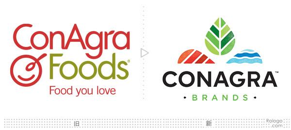 美国食品巨头康尼格拉 (ConAgra)启用新LOGO