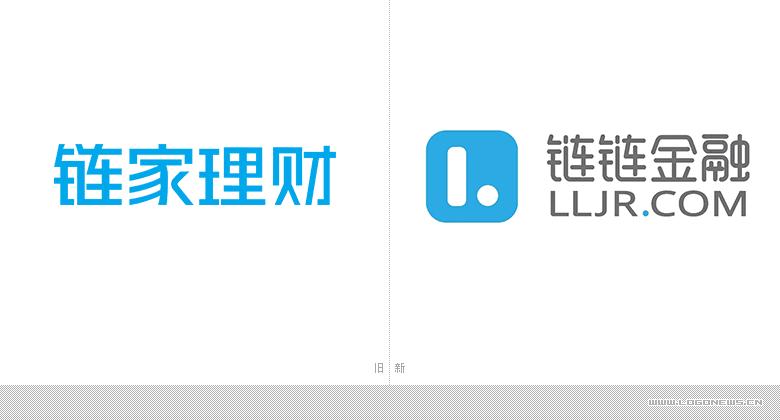 """链家理财更名""""链链金融""""发布新LOGO"""