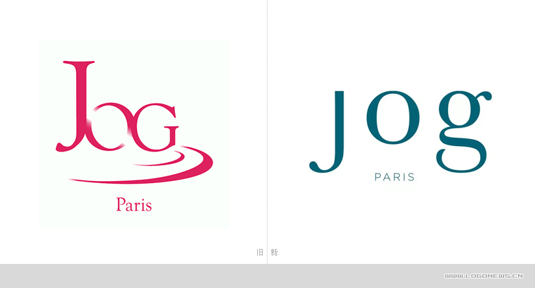 高端泳装品牌jog发布全新品牌logo-logo11设计网