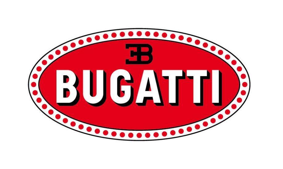 布加迪汽车logo
