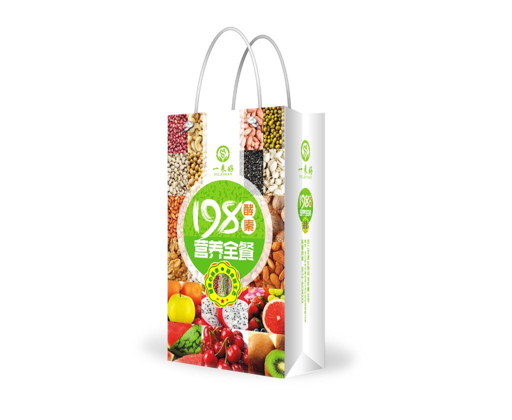 198酵素营养全餐包装设计