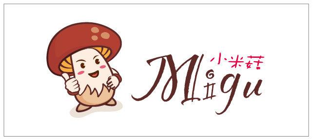 台北小米菇-餐饮logo形象设计发布