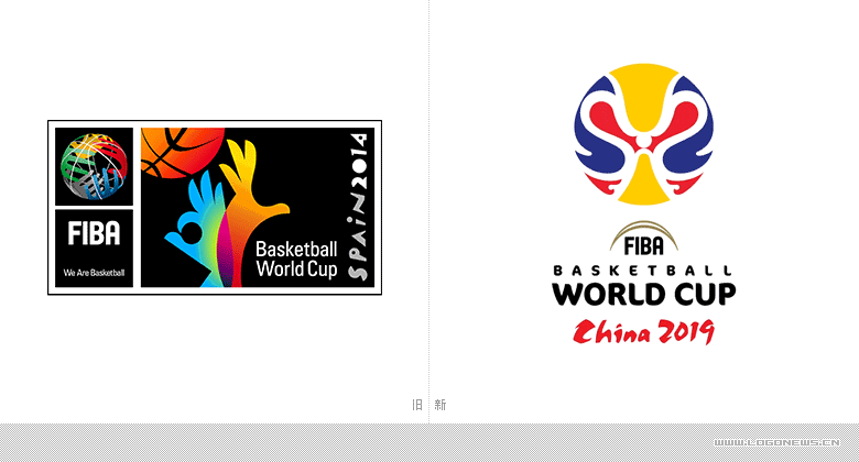 2019年中國男籃世界杯會徽正式發布-logo11設計網