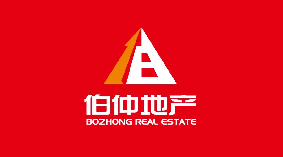 上海伯仲地产标志设计