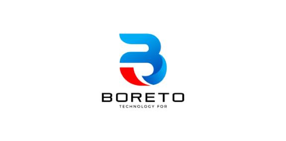 BORETO科技公司LOGO设计