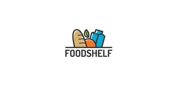 FOODSHELF食品店标志