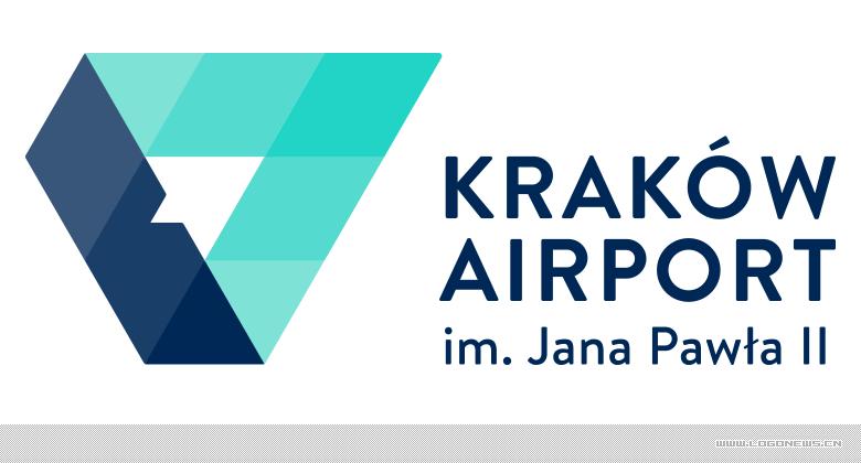 克拉科夫机场(Krakow Airport)启用更加现代新LOGO