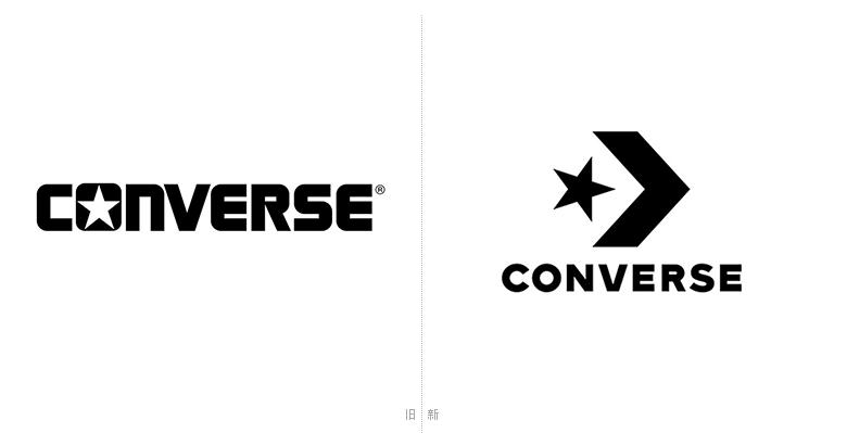 运动鞋品牌匡威Converse发布新LOGO
