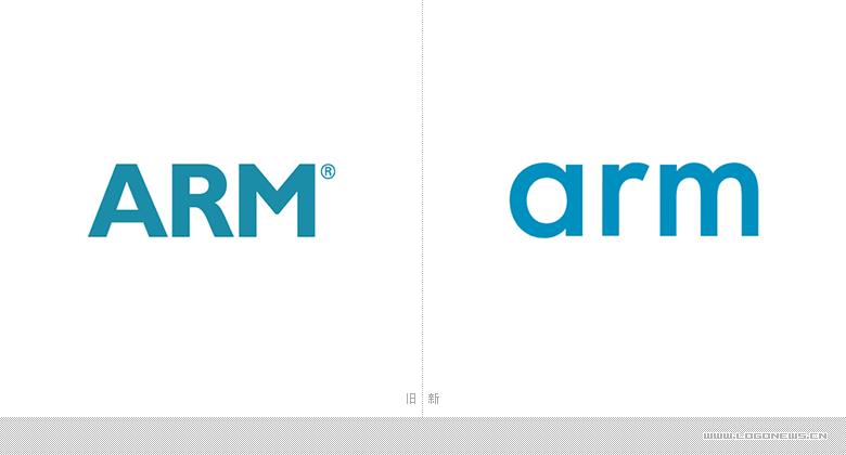 半导体知识产权提供商arm安谋控股更换新logo图片