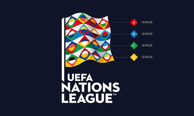 欧足联推出欧洲国家联赛,全新品牌LOGO正式发布