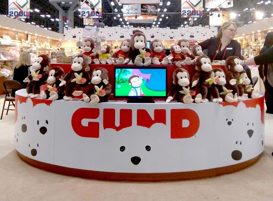 美国毛绒玩具品牌GUND发布新LOGO