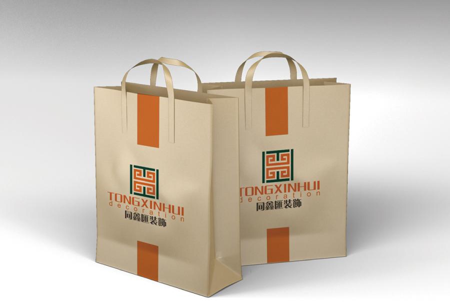 贵州遵义同鑫汇家居装饰公司LOGO设计