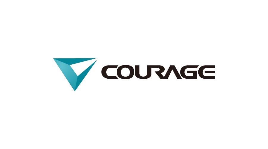 courage运动服装品牌LOGO