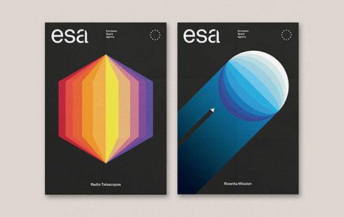 欧洲航空局ESA发布新品牌LOGO设计