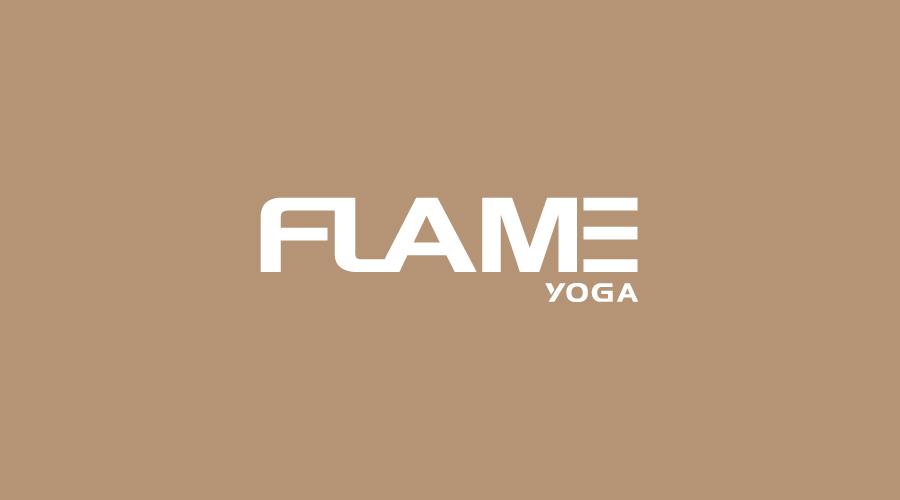 上海FLAME弗拉米思瑜伽馆LOGO设计