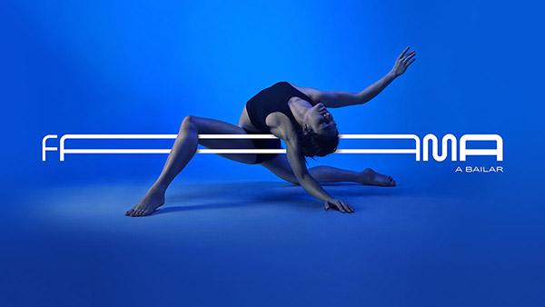 这个标识非常灵活,它可以像舞者一样自由伸展