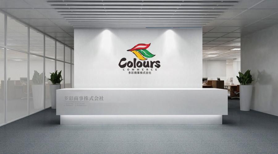 日本多彩商事株式会社标志设计