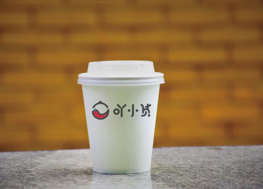 吖小货食品品牌logo设计