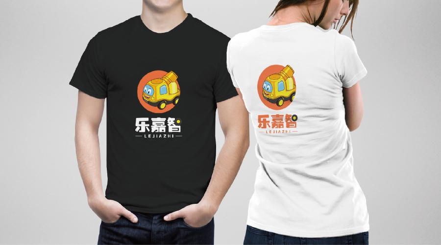 乐嘉智工程车玩具品牌卡通设计