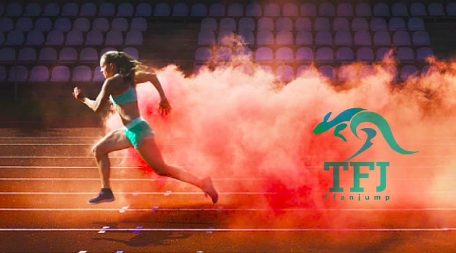 TFJ 弹跳鞋品牌LOGO设计