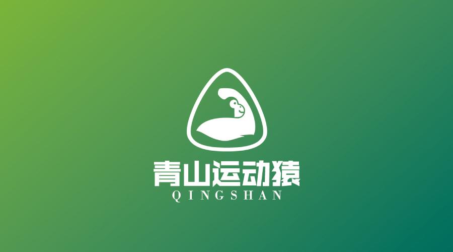青山运动猿健身品牌LOGO设计