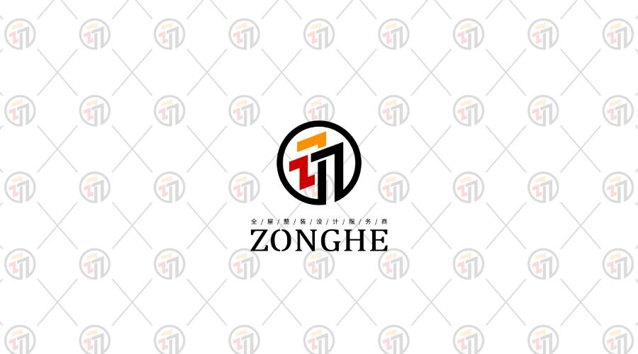 宗合装饰公司标志设计