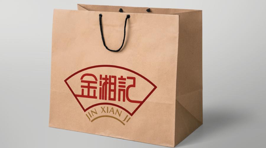 上海金湘记食品公司logo设计
