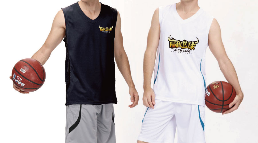启程篮球logo设计