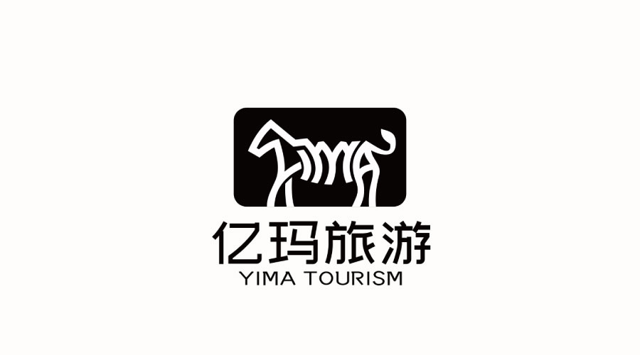 亿玛旅游公司LOGO设计