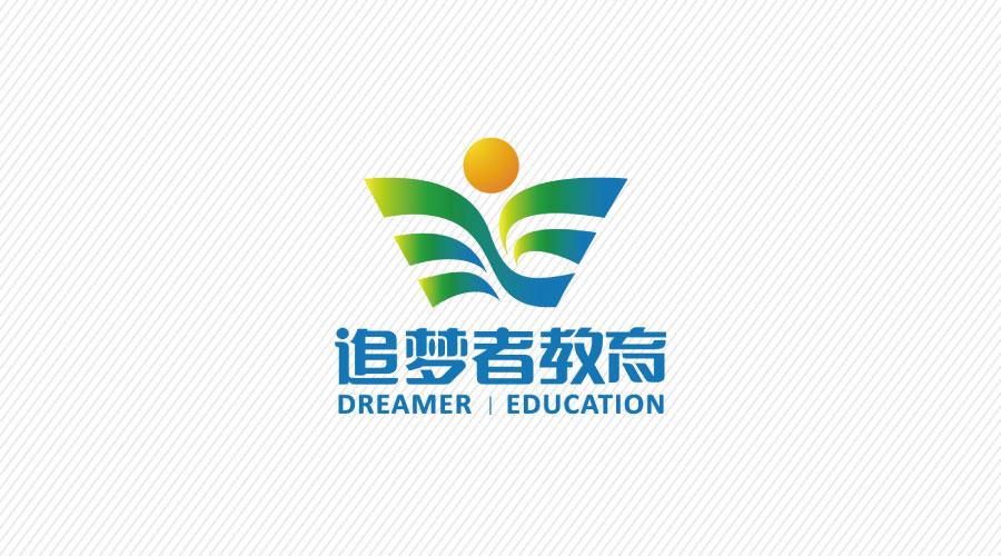 追梦者教育品牌LOGO设计