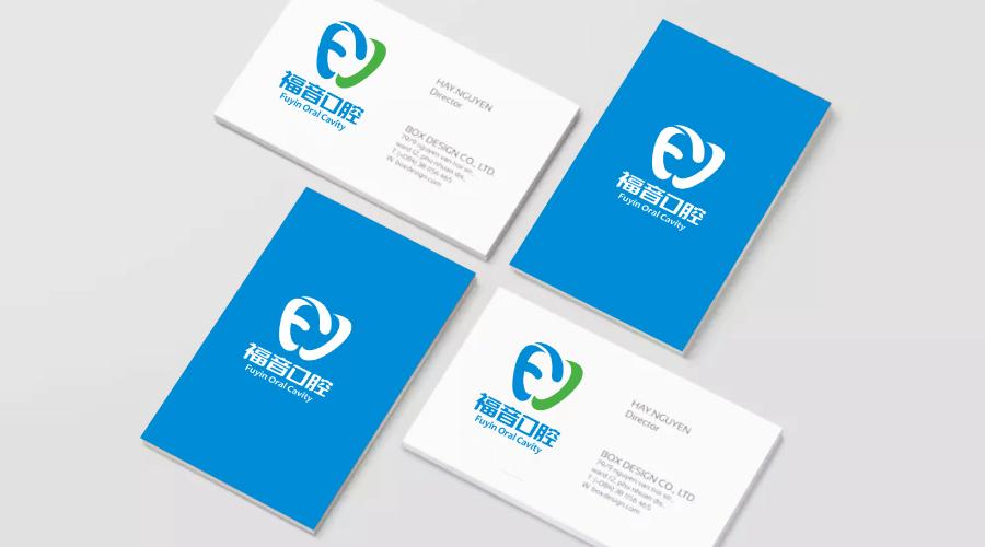 福音口腔诊所logo设计