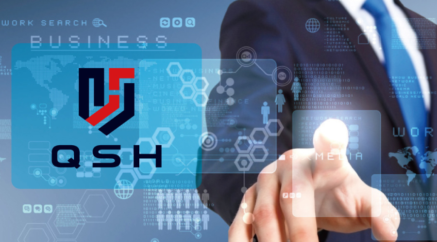 QSH金融品牌LOGO设计