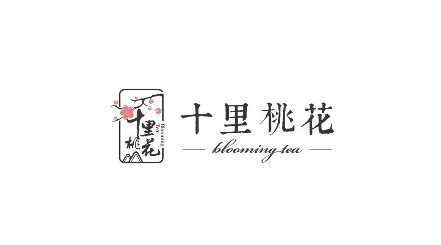 苏州十里桃花食品品牌LOGO设计