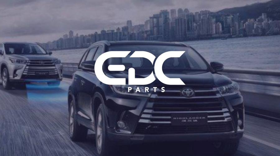 EDCParts日系汽配品牌LOGO