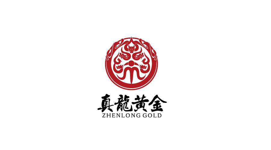 北京真龙黄金珠宝店LOGO设计