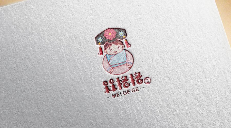 北京槑格格食品卡通形象设计